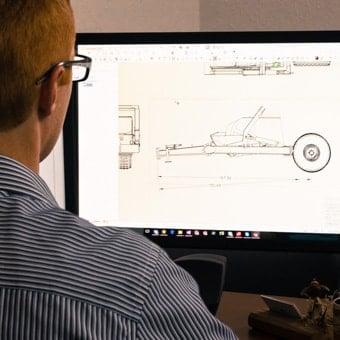 Mechanical Engineering Design on computer